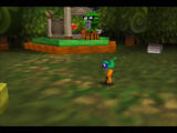 Rocket: Robot on Wheels Nintendo 64 Rocket has painted himself so that he matches the guard's colors