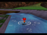 Rocket: Robot on Wheels Nintendo 64 Like Banjo-Kazooie, each water droplet makes its own concentric circles
