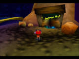 Rocket: Robot on Wheels Nintendo 64 The level entrance is blocked off, you'll need to find another way in