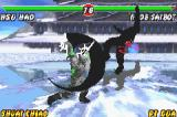 Mortal Kombat: Tournament Edition Game Boy Advance Noob Saibot tries to strike back Hsu Hao, but the ninja is struck by one of his Weapon Moves.