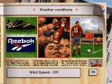 ONSIDE Complete Soccer DOS Weather options