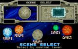 Galaxy Force II Atari ST Scene selection