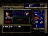 Resident Evil: Code: Veronica Dreamcast Status screen