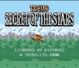 Secret of the Stars SNES Title Screen