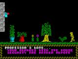 Mega-Bucks ZX Spectrum Typically eccentric professor behaviour