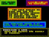 Mega-Bucks ZX Spectrum Game over screen