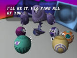 Tetrisphere Nintendo 64 Jak volunteers to be 'it' and find the other bots