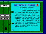 Battle Command ZX Spectrum Another mission plan