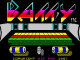 Batty ZX Spectrum Loading screen