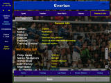 Championship Manager: Season 99/00 Windows General club info