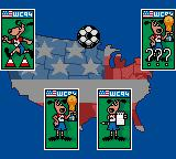 World Cup USA 94 Game Gear The whole menus in the game are presented as such dogs, which is quite confusing