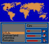 World Cup USA 94 Game Gear I think I know where USA is...