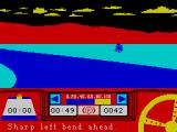 Rally Driver ZX Spectrum Going in a bit fast here