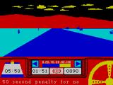 Rally Driver ZX Spectrum Didn't remember the passcode