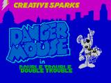 Danger Mouse in Double Trouble ZX Spectrum Loading screen uses a doubling effect