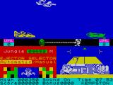 Danger Mouse in Double Trouble ZX Spectrum Game start