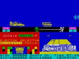 Danger Mouse in Double Trouble ZX Spectrum Different coloured foes come at you