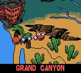 Mickey's Speedway USA Game Boy Color Next off to the Grand Canyon