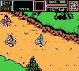 Mickey's Speedway USA Game Boy Color At the starting line for Yosemite