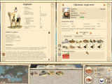 Rome: Total War Windows Unit and town info side-by-side