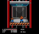 P.O.W.: Prisoners of War NES A fight on board an elevator is tight.