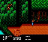 P.O.W.: Prisoners of War NES The forest is patrolled by grenadiers.