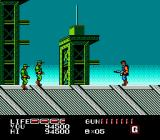 P.O.W.: Prisoners of War NES Clear the way through enemy soldiers with a machine gun.