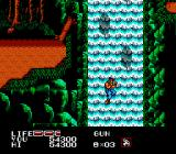 P.O.W.: Prisoners of War NES A waterfall escape, just like in the movies.