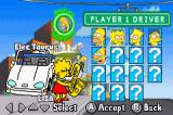 The Simpsons: Road Rage Game Boy Advance Only a few characters are available at the start of the game
