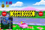 The Simpsons: Road Rage Game Boy Advance Game Over