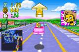 The Simpsons: Road Rage Game Boy Advance When you pick up a fare an arrows points you in the direction they need dropping off at