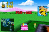 The Simpsons: Road Rage Game Boy Advance You get more money based on how fast you get there