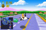 The Simpsons: Road Rage Game Boy Advance Bart's soap box race cart