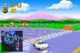 The Simpsons: Road Rage Game Boy Advance Lisa in here car
