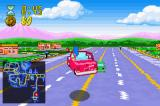 The Simpsons: Road Rage Game Boy Advance Marge's Canyonaro