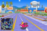 The Simpsons: Road Rage Game Boy Advance Frink racing through the entertainment district
