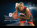 NBA Live 06 Windows Dwane Wade is on the loading screen.