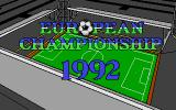 European Championship 1992 Atari ST Loading screen