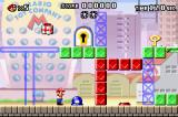 Mario vs. Donkey Kong Game Boy Advance Jumping on the button removes blocks of that colour