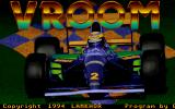Vroom DOS Title screen