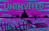 Uninvited DOS Title screen