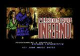 Persian Gulf Inferno Commodore 64 Title screen