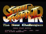 Street Fighter Collection PlayStation Super Street Fighter II: The New Challengers title screen