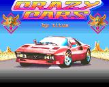 Crazy Cars Amiga Title screen