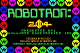 Midway's Greatest Arcade Hits Game Boy Advance Robotron - Title Screen
