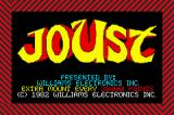 Midway's Greatest Arcade Hits Game Boy Advance Joust - Title Screen