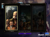 Rise of Nations: Rise of Legends Windows The Campaign Menu: there are 3 Campaigns