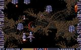Xenon 2: Megablast Amiga The C-marked bubbles add credits.