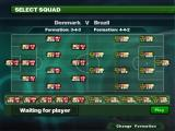 Sensible Soccer 2006 Windows Squad selection