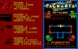 Pac-Mania Atari ST Choosing a level